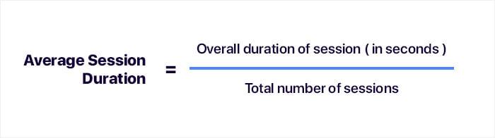 Formula For Calculating Average Session Duration