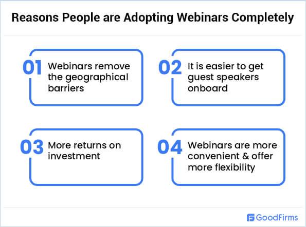 Reasons People are Adopting Webinars Completely